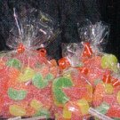 """Clear Cello/Cellophane Bags - Flat - 100 Bags - 4"""" x 12""""  - Party/Wedding Favors"""