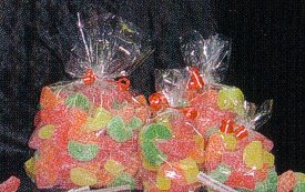 """Clear Cello/Cellophane Bags - Flat - 100 Bags - 4"""" x 4""""  - Party/Wedding Favors"""