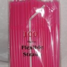Straws - Flex/Flexible Drinking Straws - Luau - Wedding - Party - Hot Pink - 200 Flexible Straws
