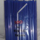 Straws - Flex/Flexible Drinking Straws - Luau - Wedding - Party - Royal Blue - 200 Flexible Straws