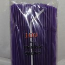 Straws - Flex/Flexible Drinking Straws - Luau - Wedding - Party - Purple - 500 Flexible Straws
