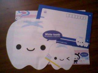 Q-Lia Smile Pocket Teeth Loose Letter Set