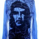 Mens Womens Che Guevara Viva La Revolucion Long Sleeve Shirt