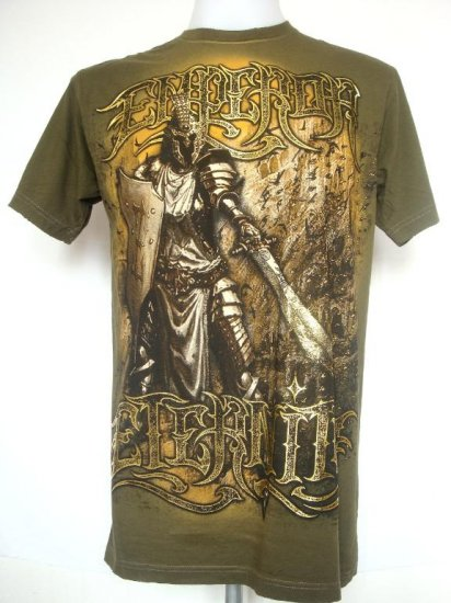 Emperor Eternity Warrior Shield Helmet Fighter Sword T-Shirt M