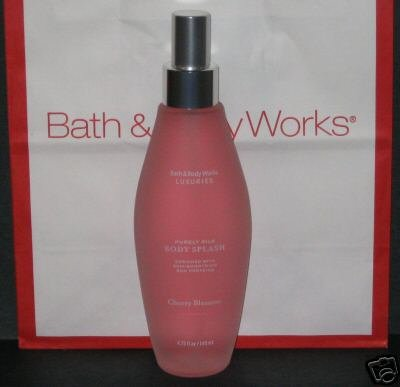 Cherry Blossom LUXURIES Collection Purely Silk Body Splash