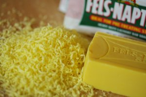 2 BARS OF SHREDDED FELS-NAPTHA SOAP