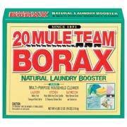 2 Boxes of 20 mule team borax