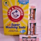 4 Arm & Hammer Super Washing Soda & 8 Fels Naptha Soap