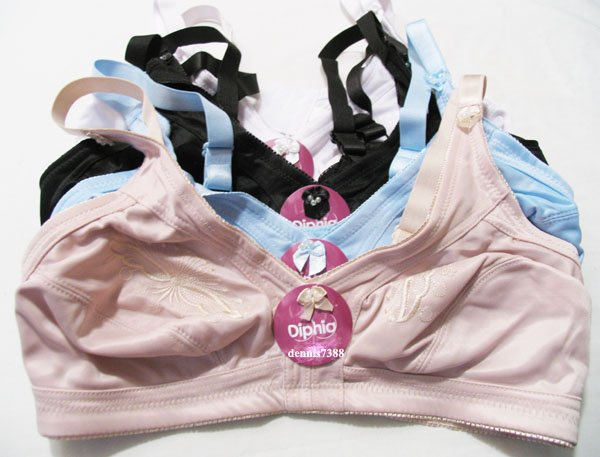 Brand New with Tags LOT 6 NO WIRE FULL COVERAGE BRA 42D