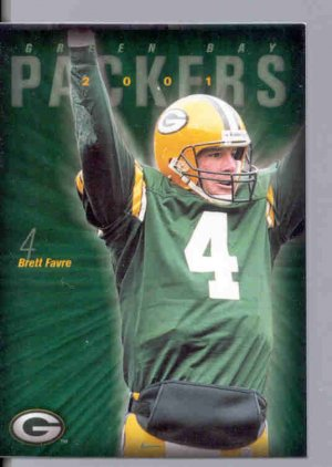 2001 01 Packers Police Brett Favre card 2 of 20 Green Bay Packers