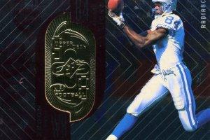 1998 98 SPx Finite Radiance Herman Moore card #220 serial #4217/5050 Detroit Lions