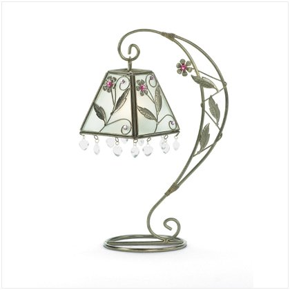 Flower Swirl Candle Holder