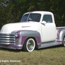 Bobs 52 Chevy Truck Giclee Art Print 12x16