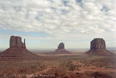 Alone in Monument Valley II Giclee Art Print 12x16