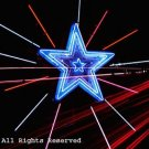 Neon Highway Star Giclee Art Print 12x16