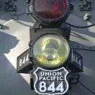 Train Headlight Giclee Art Print 12x16