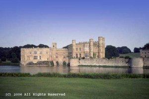 Leeds Castle II Giclee Art Print 12x16