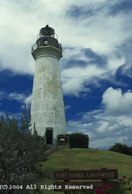 Port Isabel Lighthouse Giclee Art Print 12x16
