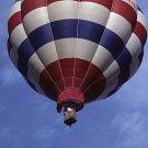 Red White and Blue Balloon II Giclee Art Print 12x16