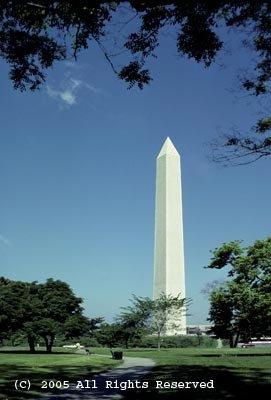 Washington Monument Giclee Art Print 12x16