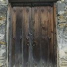 Weathered Door Giclee Art Print 12x16