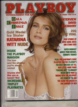 Playboy December 1998 Katarina Witt Nude