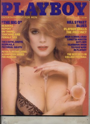Playboy October 1983 Redheads Tracy Vaccaro