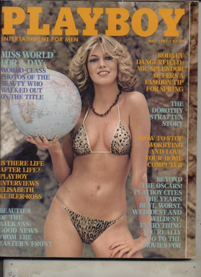 Playboy May 1981 Dorthy stratten Story