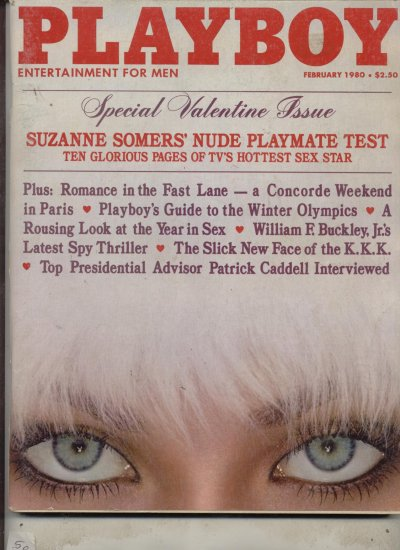 Playboy February 1980 Suzanne Somers