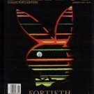 Playboy January 1994 40th Anniversary issue
