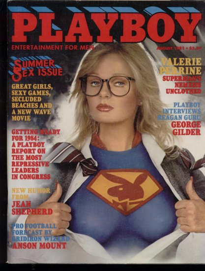 Playboy 1981 Valerie Perrine Girls of Summer
