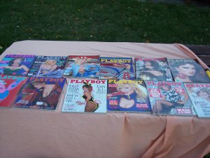 Playboy 1986 12 issues Free Shipping USA Melanie Griffith
