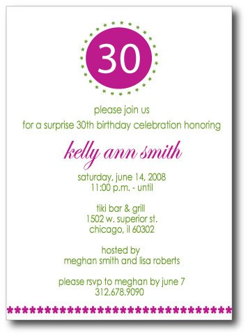 Modern Star Birthday Number Invitation/Announcement