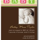 Baby Blocks Invitation/Announcement