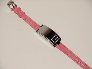 Pink / Red Flip Watch