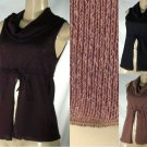 Yaffa - Juniors Cowl Neck Knit Tops