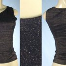 Selections - Junior Glitter Tops with Tie Shoulder Accent