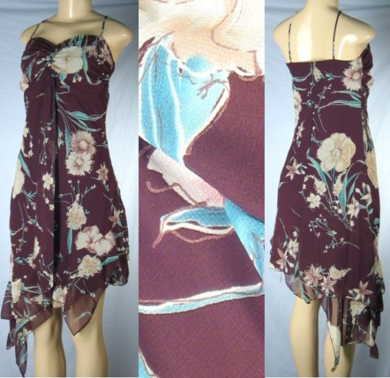 Kitty - Strappy Dress with Hanging Bodice Accent & Fashion Hem - 1 group of 6 - from $9 each Dress