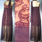 Pola -Spaghetti Strap Dresses with Sheer Wrap Around Design and Matching Scarf - from $10 each Dress