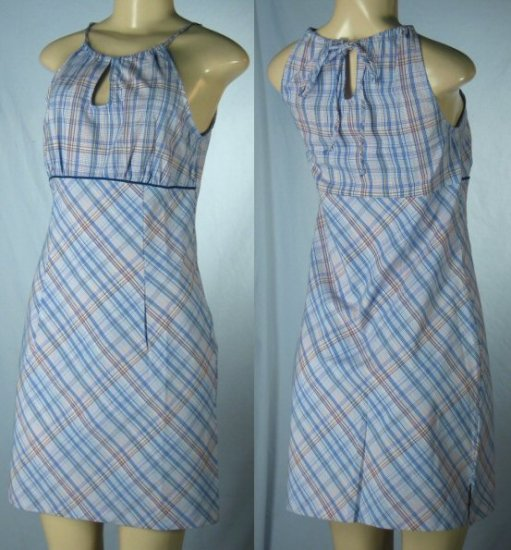 Junior Plaid Dresses with Spaghetti Straps - 1 group of 7 - from $5 each Dress