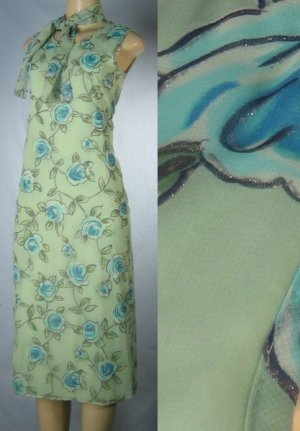 Girl Code - Missy Pastel Floral Lined Dresses with Attached Scarf  - from $9 each Dress