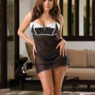 Satin and Chiffon babydoll(5291XDG)