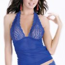 Sheer halter top set(80605SM)
