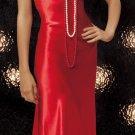 Long satin nightgown(80484SM)