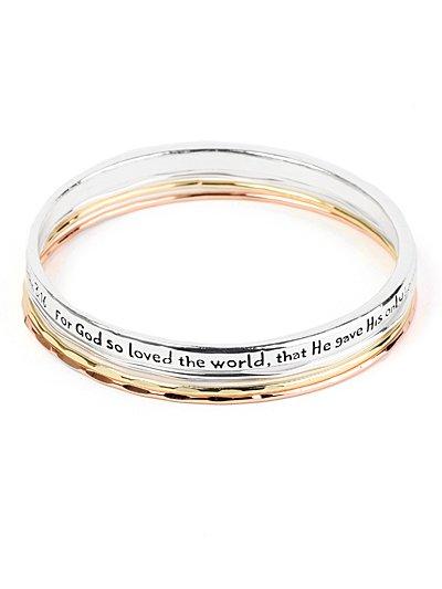 Bible Inscribed bracelet(b1324lf3t_4HD)
