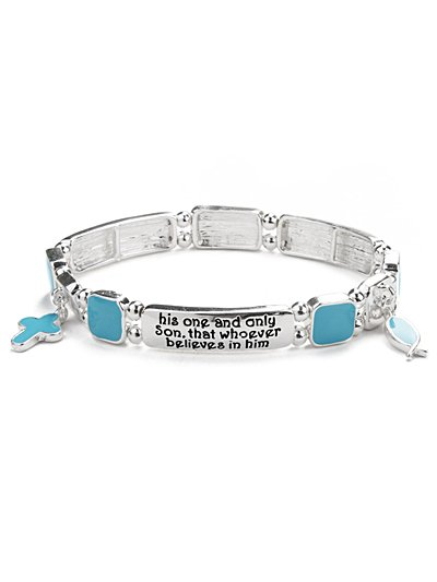 Bible Inscribed bracelet(b1457lfstq_4HD)