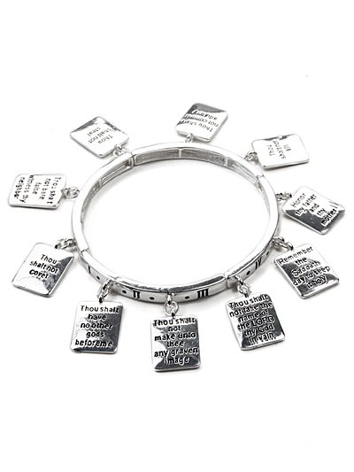 10 commandments charms bracelet(b1488lfas_4HD)