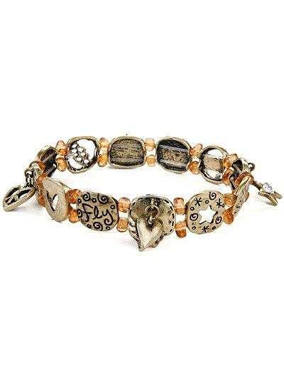 Shine, fly, spirit sretch bracelet(b1518lfbb_4HD)