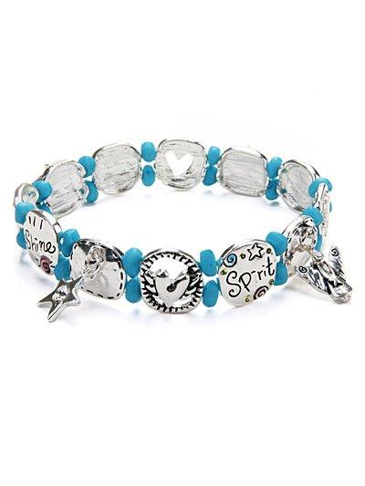 Shine Spirit Fly Soul stretch bracelet(b1518lfstq_4HD)