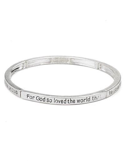 Bible Inscribed bracelet(b21803ats_28HD)